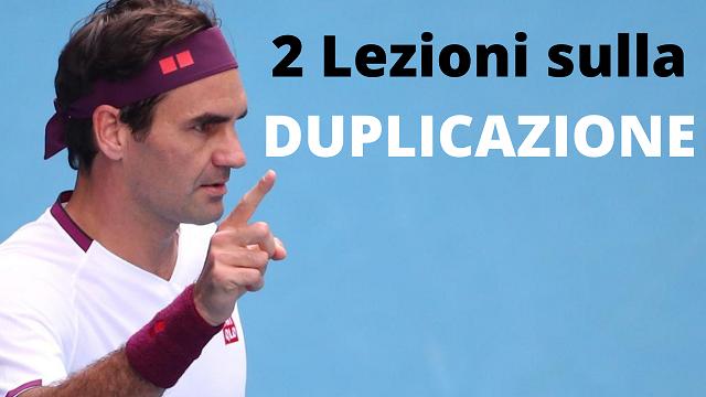 2 Lezioni sulla Duplicazione nel MLM che ho imparato da Roger Federer (la seconda ti lascerà di stucco)